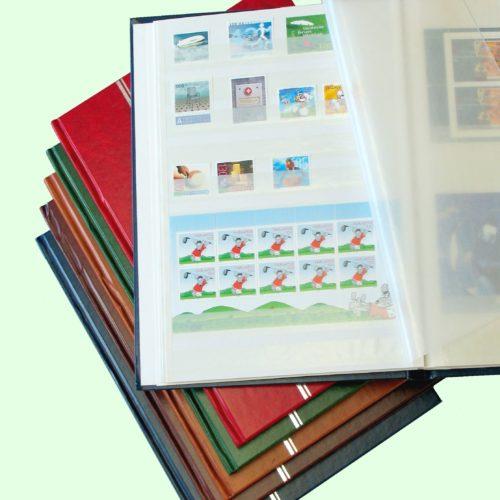 Briefmarken-Einsteckalben & Einsteckblätter